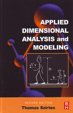 Cover of the book Applied Dimensional Analysis and Modeling