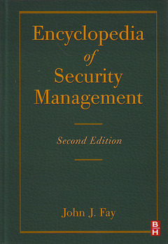 Cover of the book Encyclopedia of Security Management