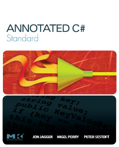 Cover of the book Annotated C# Standard