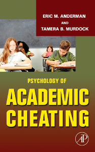 Couverture de l'ouvrage Psychology of Academic Cheating