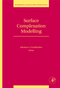 Cover of the book Surface Complexation Modelling