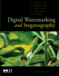 Cover of the book Digital Watermarking and Steganography