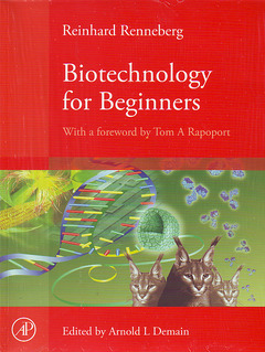 Cover of the book Biotechnology for Beginners
