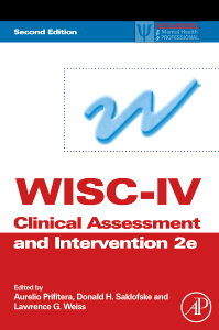 Cover of the book WISC-IV Clinical Assessment and Intervention