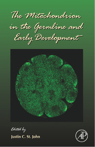 Cover of the book The Mitochondrion in the Germline and Early Development