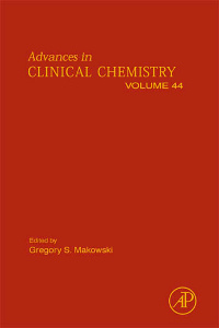 Cover of the book Advances in Clinical Chemistry
