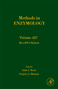 Cover of the book MicroRNA Methods