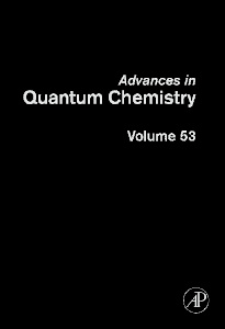 Cover of the book Advances in Quantum Chemistry