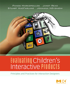 Cover of the book Evaluating Children's Interactive Products