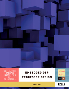 Cover of the book Embedded DSP Processor Design
