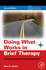 Cover of the book Doing What Works in Brief Therapy