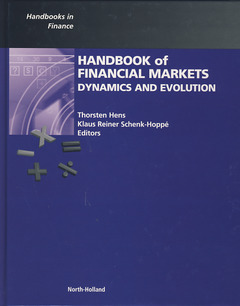Cover of the book Handbook of Financial Markets: Dynamics and Evolution