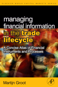 Cover of the book Managing Financial Information in the Trade Lifecycle