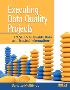 Cover of the book Executing Data Quality Projects