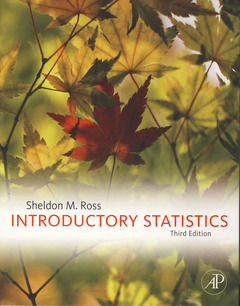 Cover of the book Introductory Statistics