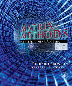 Cover of the book Matrix Methods