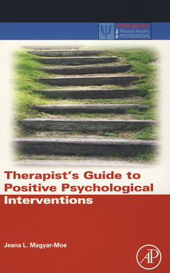 Cover of the book Therapist's Guide to Positive Psychological Interventions