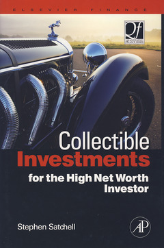 Cover of the book Collectible Investments for the High Net Worth Investor
