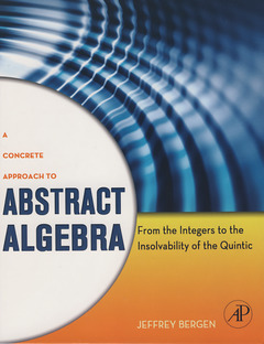 Cover of the book A Concrete Approach to Abstract Algebra