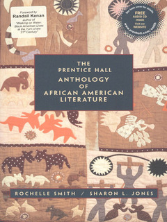 Couverture de l'ouvrage Prentice hall anthology of african american literature with audio cd, the