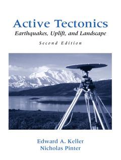 Couverture de l'ouvrage Active tectonics : Earthquakes, uplift & landscape, 2nd ed.