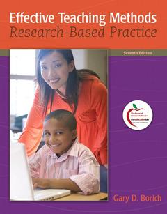 Couverture de l'ouvrage Effective teaching methods (7th ed )