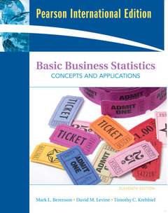 Cover of the book Basic business statistics : Concepts and application (Pearson international Ed.) with CD-ROM