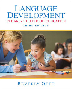 Cover of the book Language development in early childhood (3rd ed )
