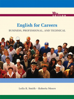 Cover of the book English for careers : business, professional, and technical (10th Ed)