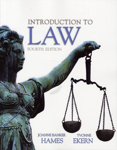Cover of the book Introduction to law