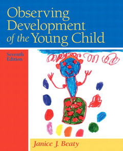 Cover of the book Observing development of the young child (7th ed )