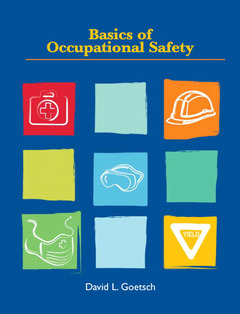 Cover of the book Basics of occupational safety (1st ed )