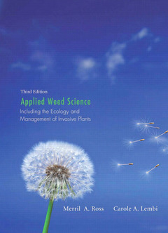 Cover of the book Applied weed science