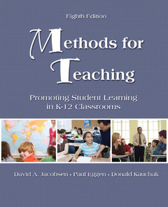 Cover of the book Methods for teaching (8th ed )