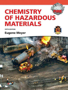 Cover of the book Chemistry of hazardous materials