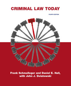 Cover of the book Criminal law today