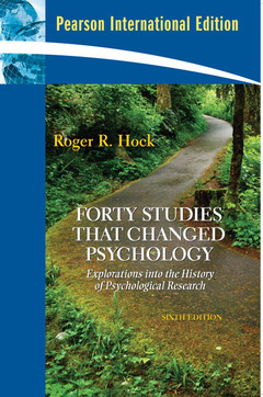 Cover of the book Forty studies that changed psychology