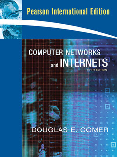 Cover of the book Computer networks and internets (5th Ed. - int. version)