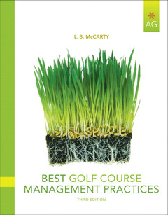 Cover of the book Best golf course management practices (3rd ed )