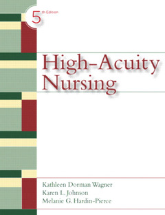 Cover of the book High acuity nursing