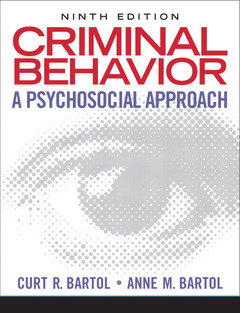 Cover of the book Criminal behavior (9th ed )