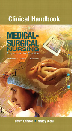 Cover of the book Clinical handbook for medical surgical nursing