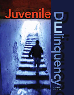 Cover of the book Juvenile delinquency (8th ed )