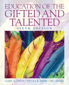 Cover of the book Education of the gifted and talented (6th ed )