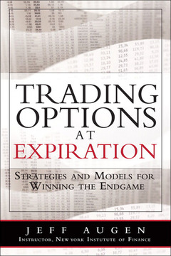 Cover of the book Trading options at expiration