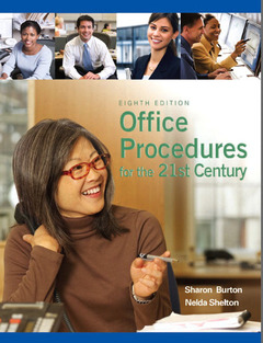 Cover of the book Office procedures for the 21st century & integrated office simulation (8th ed )