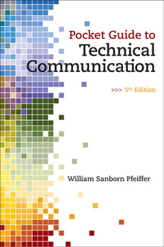 Cover of the book Pocket guide to technical communication (5th ed )