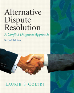 Cover of the book Alternative dispute resolution (2nd ed )