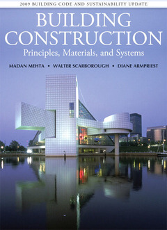Cover of the book Building construction