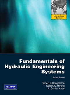 Cover of the book Fundamentals of hydraulic engineering systems